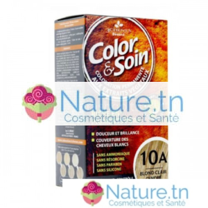 3 CHÊNES COLOR & SOIN COLORATION – 10A BLOND CLAIR CENDRÉ