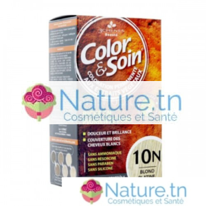 3 CHÊNES COLOR & SOIN COLORATION – 10N BLOND PLATINE