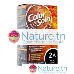 3 CHÊNES COLOR & SOIN COLORATION – 2A Brun Azuré