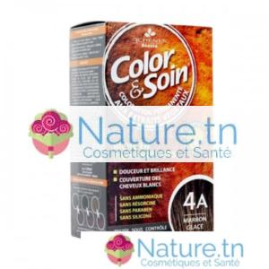 3 CHÊNES COLOR & SOIN COLORATION – 4A MARRON GLACÉ
