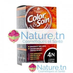 3 CHÊNES COLOR & SOIN COLORATION – 4N CHÂTAIN NATUREL