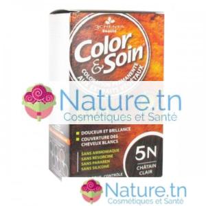 3 CHÊNES COLOR & SOIN COLORATION – 5N CHÂTAIN CLAIR