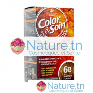 3 CHÊNES COLOR & SOIN COLORATION – 6B MARRON CACAO