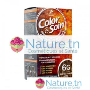 3 CHÊNES COLOR & SOIN COLORATION – 6G BLOND FONCÉ DORÉ