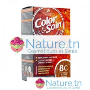 3 CHÊNES COLOR & SOIN COLORATION – 8C BLOND CUIVRÉ