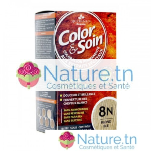 3 CHÊNES COLOR & SOIN COLORATION – 8N BLOND BLÉ