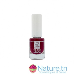 Eye care Ultra vernis à ongles Silicium-Urée Bordeaux