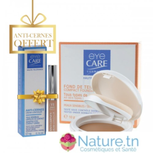 EYE CARE TEINT COMPACT PERFECTEUR – SPF 25 + EYE CARE CORRECTEUR ANTI CERNE ILLUMINATEUR OFFERT