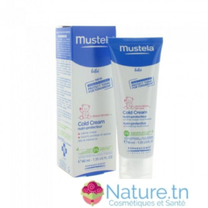 MUSTELA BEBE COLD CREAM NUTRI-PROTECTEUR 40 ML
