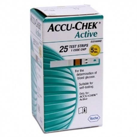 Accu-Chek Active Bandelettes BT/25 3