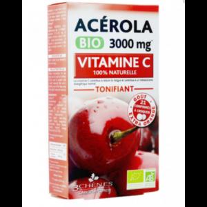 Acérola 3000 mg 3 chènes