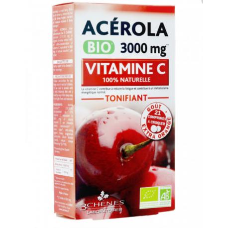Acérola 3000 mg 3 chènes 3
