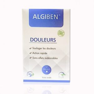 ALGIBEN DOULEURS 12 GELULES