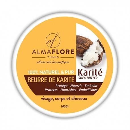 ALMAFLORE Beurre de Karité Brut BIO- 100 g 3