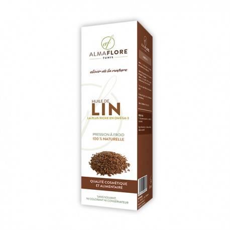 ALMAFLORE HUILE DE LIN - 50 ml 3