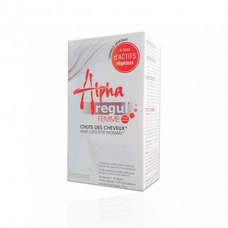 ALPHAREGUL ANTI CHUTE CHEVEUX, 60 CAPSULES 3