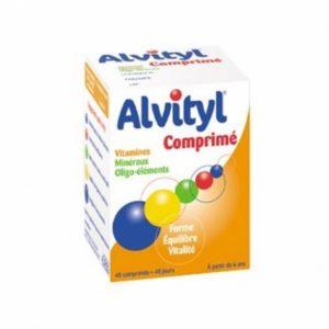 Alvityl vitamines minéraux