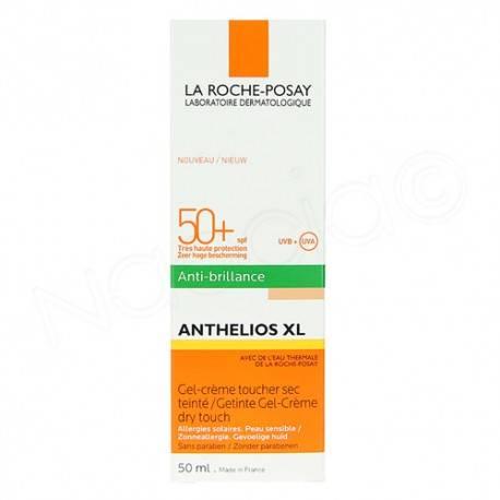 ANTHELIOS XL SPF 50+ GEL-CRÈME TOUCHER SEC TEINTE ANTI-BRILLANCE 3