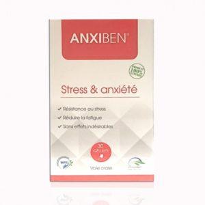 ANXIBEN STRESS ET ANXIÉTÉ 30 GELULES