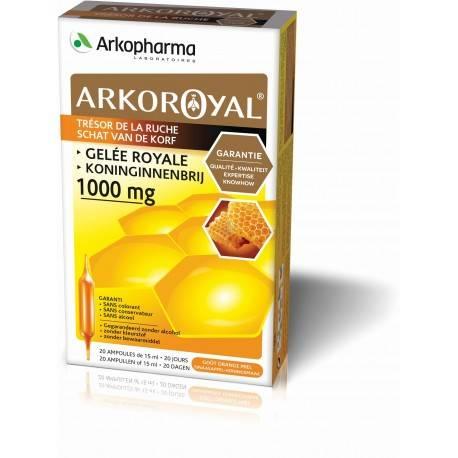 Arko Royale gelée royale 1000 mg - 20 ampoules 3