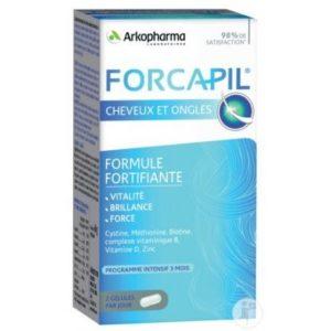 Arkopharma Forcapil Cheveux et ongles – 180 gélules