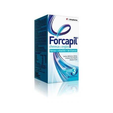 Arkopharma Forcapil Cheveux et ongles - 60 gélules 3