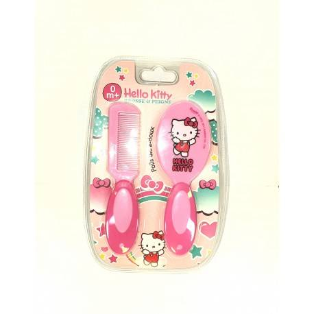 baby pur brosse et peigne Hello Kitty 3