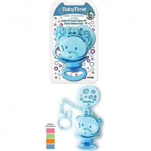 Baby Time attache sucette +protège