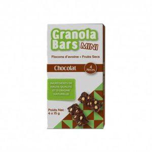 Barre De Granola Mini Chocolat Régime Alimentaire Sain