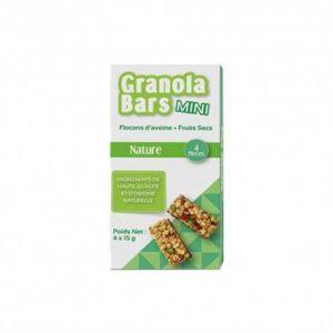 Barre De Granola Mini Nature Régime Alimentaire Sain