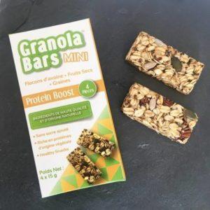 Barre de Granola Mini Protein Boost Régime Alimentaire Sain