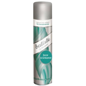 Batiste shampoing sec force et brillance