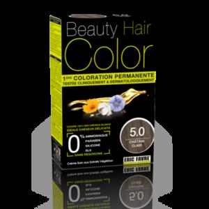 Beauty Hair color 5.0 chatin clair