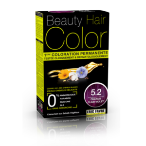 Beauty Hair color 5.2 chatin clair violet