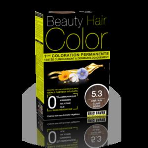 Beauty Hair color 5.3 chatin clair doré