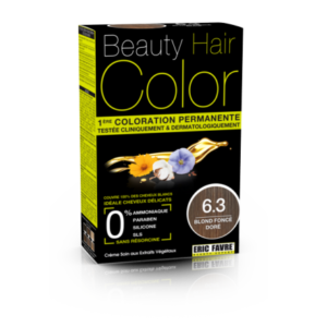 Beauty Hair color 6.3 blond foncé doré
