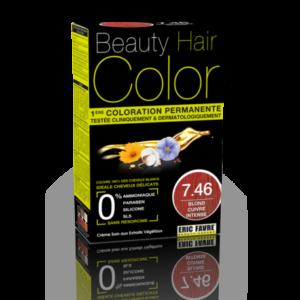 Beauty Hair color 7.46 blond cuivre intense