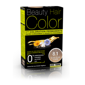 Beauty Hair color 8.1 blond clair cendre