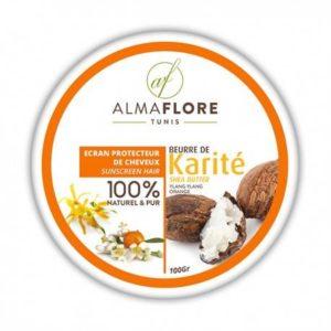 Beurre de Karité ylang ylang orange de ALMAFLORE 100g