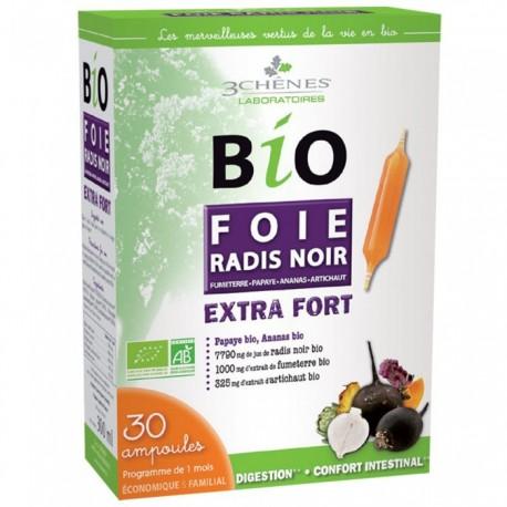 BIO FOIE RADIS NOIR EXTRA FORT - 30 AMPOULES 3