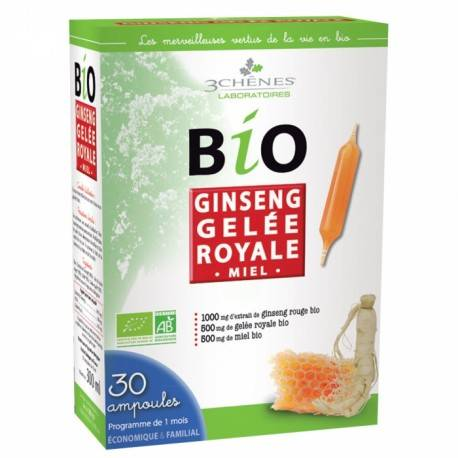 BIO GINSENG GELEE ROYALE - 30 AMPOULES 3
