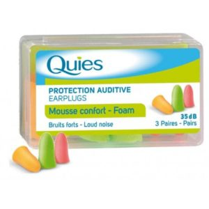 Boule quies mousse 3 paires
