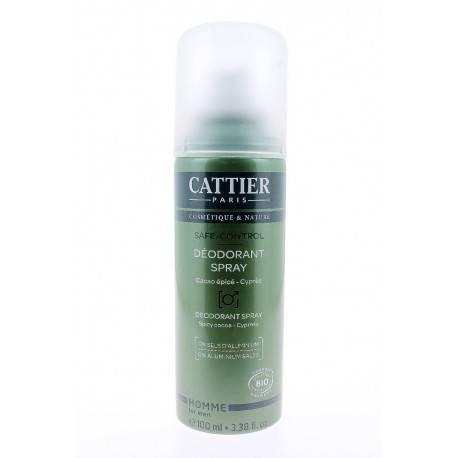 CATTIER Déodorant Homme Safe-Control 100 ml 3