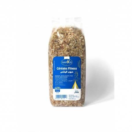 Céréales fitness (flocons, fruits secs) (300g) certifiés BIO - NAPOLIS 3