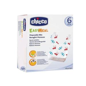 Chicco bavoir jetable easy meal , 6m+