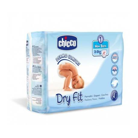 CHICCO COUCHE NEW BORN 2-5KG 27 PCS 3