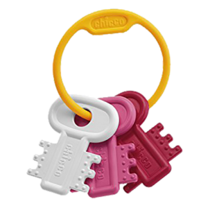 Chicco hochet clef rose, 3m+
