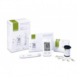 Coffret BIONIME Lecteur + 2 Boîtes de Bandelettes Glycémie 50 unités