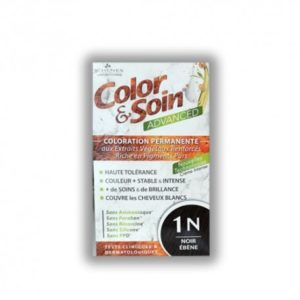 COLORATION ADVANCED 1N NOIR ÉBÉNE 130ML COLOR & SOIN