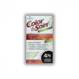 COLORATION ADVANCED 4N CHATAIN NATUREL 130ML COLOR & SOIN